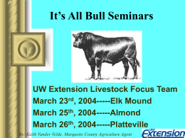 It`s All Bull Seminars