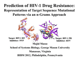 Prediction of HIV-1 Drug Resistance
