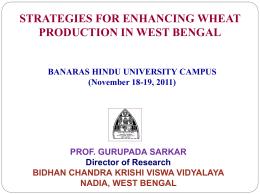 BIDHAN CHANDRA , Krishi Vishwavidyalaya