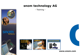 snom technology AG, Berlin, Germany