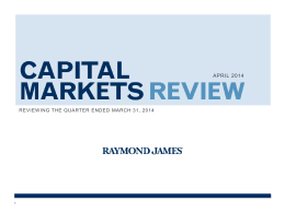 Capital Markets Review - Retirement & Investment Group, LLC