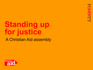Presentation: Standing up for justice - Learn