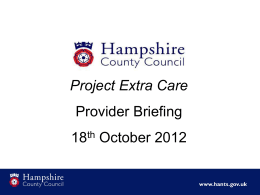 Project Extra Care
