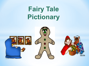 Fairy Tale Pictionary Vocabulary