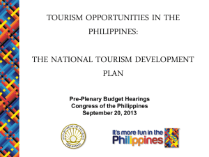 Ppt_ Tourism Overview_Congress