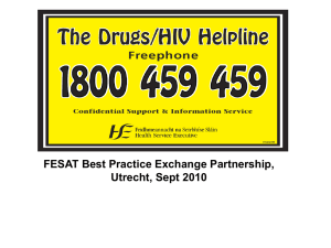 Drugs/ HIV Helpline