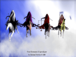 Four Horses ppt - Tribulation Institute