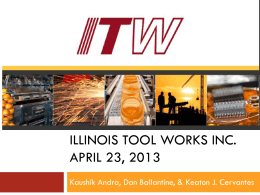 Illinois Tool Works Inc.