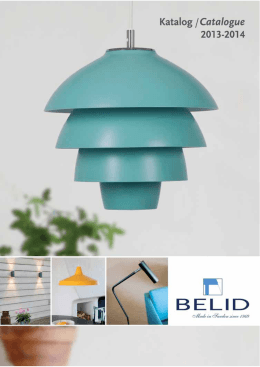 Nordic design and production from Belid