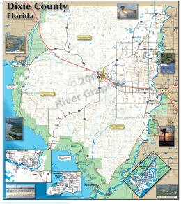 Map - Dixie County, Florida