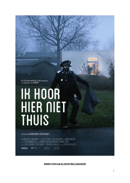 the presskit - Pieter van Huystee Film