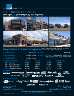 download flyer - The Retail Connection
