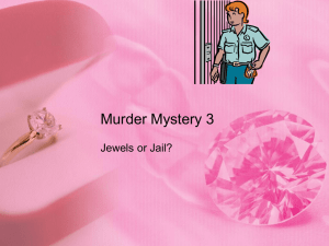 Murder Mystery 3 - Primary Resources