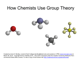 group theory for mathematiciansx