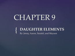 CHAPTER 9 - Ram Pages