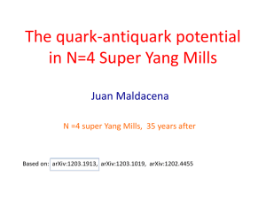 The quark-antiquark potential in N=4 Super Yang Mills