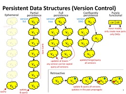 Advanced Data Structures - Department of Computer Science