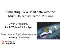 Simulating MIRI data with the Multi