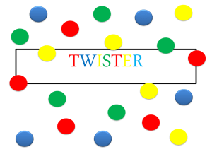 TWISTER – Algebra - Do Math Together
