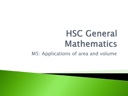 HSC General Mathematics m5backdrop - ccsyr12-2009