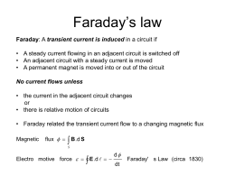 Faraday`s Law