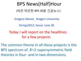 talk - Rutgers University