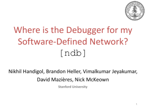 Where*s the debugger for my software