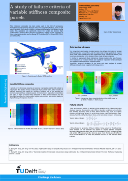Variable Stiffness composites