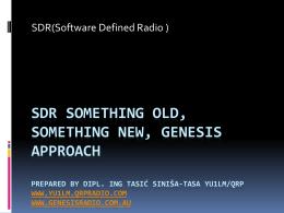SDR ne*to staro, ne*to novo pripremio tasi* Sini*a-tasa