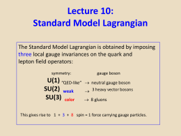 Lecture.10.Standard.Model.Lagrangian