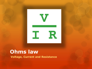 Ohms Law Presentation File
