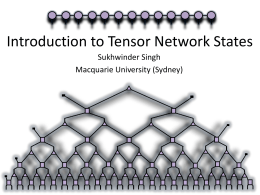 intro to tensor networks