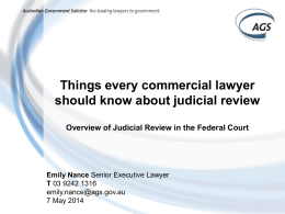 PowerPoint - Federal Court of Australia