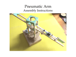 Pneumatic Arm Step-by-Step