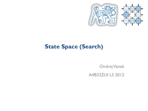 (Uninformed) State Space Search