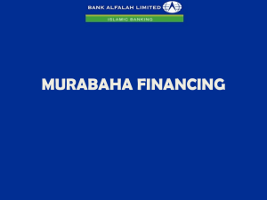 master murabaha financing agreement