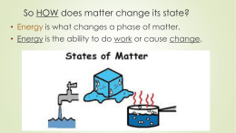 Phase Change Powerpoint
