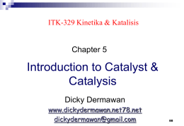 5-Intro 2 Catalyst - Dicky Dermawan
