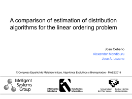 Solving Permutation Problems with Estimation of Distribution