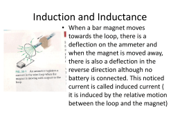 Induction and Inductance