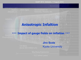 Anisotropic inflation