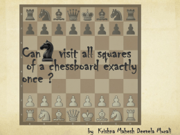 Can a knight visit all squares of a chessboard exactly once?