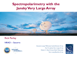 Wideband Polarimetry with the Jansky Very Large