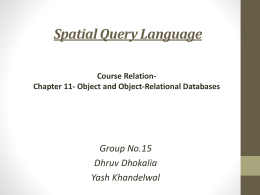 G15 - Spatial Database Group