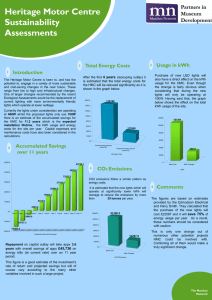 PowerPoint template for a scientific poster