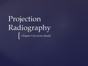 Projection Radiography