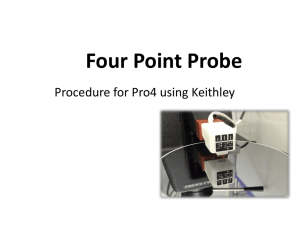 point probing using Keithley Pro 4 9-25-2013