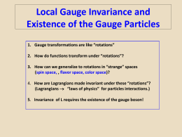 Lecture.9.Local.Gauge.Invariance