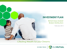 investment plan - Home | OMBD