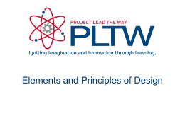 U6 Elements and Principles of Design - Wikispaces